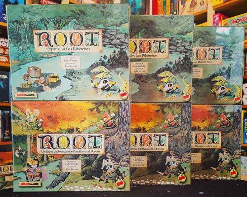 Root cajas